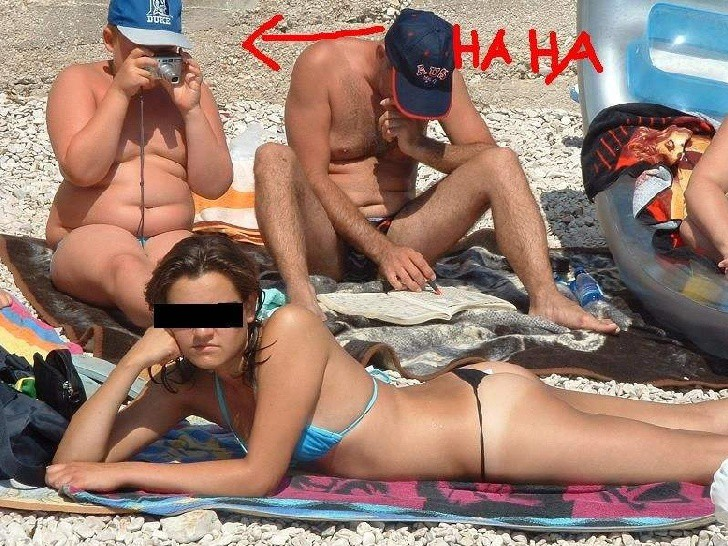 Спалились на пляже фото пост!
